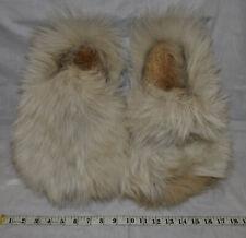 Native American Wolf Fur Mittens