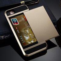 KARTEN Handyhülle für Apple iPhone 7 PLUS Tasche Hülle - Gold (P4GO)