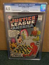 Justice League of America #1 (Oct-Nov 1960, DC) CGC 4.5