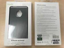 MOSHI SILVER GREY ALUMINUM CASE COVER FOR APPLE iPHONE 6 6s PLUS   5.5 inch
