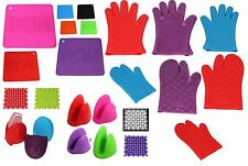 Silicone Oven Gloves ,New Design Trivets, Silicone Coasters Pot Holder Mitts