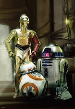 1000 piece Star Wars Episode 7 R2-D2, C-3PO & BB-8(51x73.5cm) Tenyo From Japan