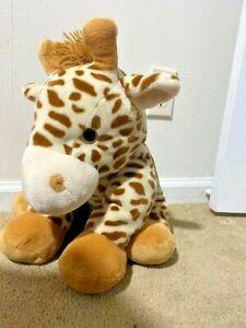 Large Giraffe Stuffed Animal Toy from Children Safari Family Friend Plush Kids