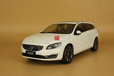 1:18 Volvo V60 white color model + gift
