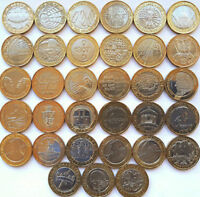 £2 COINS TWO POUNDS 1986 to 2018