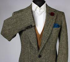 Harris Tweed Blazer Jacket Wedding Country Horse Races 42R X044