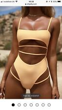 Oh Polly Thong Bikini Swimsuit Size Small