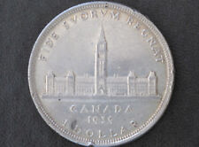 1939 Canada Silver Dollar George VI Canadian Coin D7934