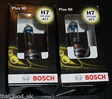 Bosch Coche Faro Bombillas 477 H7 X 2 (más 90)