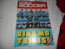 World Soccer Magazine July 1981 Liverpool Real Madrid European Cup Final