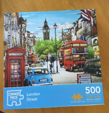 LONDON STREET 500 PIECE JIGSAW PUZZLE-CORNER PIECE BRAND. Done Once