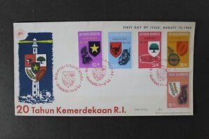 SC43 INDONESIA 1965 FDC 20th anniv. of the republic