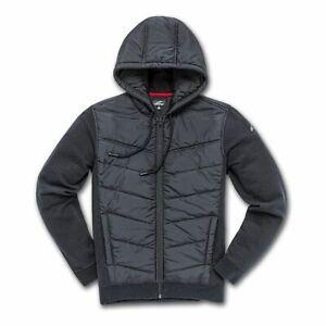 Casual Zip Hoodie > Alpinestars Boost 2 Hybrid Quilted Fleece Jacket - Black