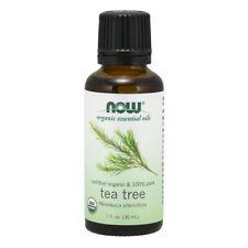 NOW Foods Tea Tree Oil, Organic, 1 oz. FREE SHIPPING. MADE IN USA. FRESH.