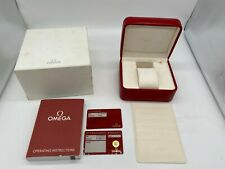 OMEGA Speed Master Sea Master Watch Box genuine Empty  case auth 0629002PA34