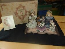 Yesterdays Child The Dollstone Collection,Sarah & Heather.Tea for Four 3507