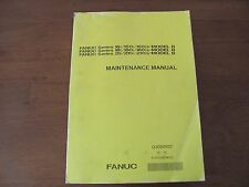 FANUC maintenance manual for 16, 18 and 21 controls