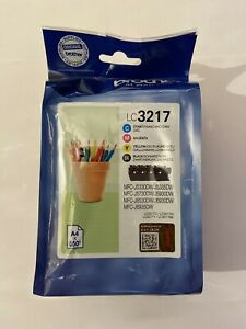 Genuine Brother LC3217 Multipack Printer Ink Cartridges LC3217VAL 2022 VAT.Inc