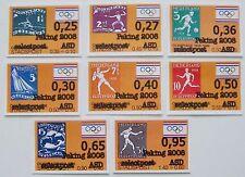Stadspost Amsterdam - Serie Olympische Spelen (Olympics) met opdruk Peking 2008