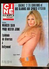 Ciné Télé Revue 16/12/1971; Brigitte Bardot/ Bob Hope/ Sean Connery/ J. Moreau