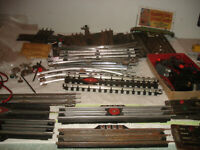 Lionel Marx American flyer switch bump track controllers lockon parts lot