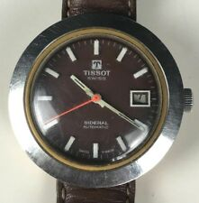 Very Rare TISSOT Sidéral Automatic 60' SWISS WATCH  🚚 FAST & FREE