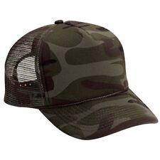 New Camo Trucker Hat Hats Foam Front Mesh Back Snap Adjustable Cap Super Cool!