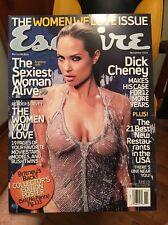 Esquire - Nov 2004 - Angelina Jolie - MINT - magazine Britney Spears Poster