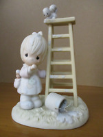 Precious Moments My Days Are Blue Without You 1988 520802 ENESCO With Box