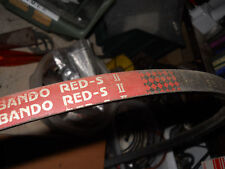 Vendo cinghia Orig. BANDO-RED-S II SB 43 ADATTABILE su motozappe Honda F610/660