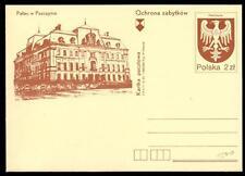 POLONIA - Intero post. - 1981 - (P816) - Monumento: Castello di Pszczyna (Pless)