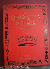 libro antico RACCOLTA CENTO CITTÀ D'ITALIA  1920 3° volume 101-150 CON CUSTODIA