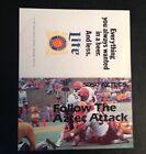 San Diego State SDSU Aztecs 1980 Pocket Schedule Lite Beer 76 KFMB NCAA Football