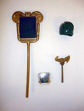 VISIONARIES DARKSTORM STAFF HELMET AXE & HOLOGRAM Vintage Figure Accessory 1987