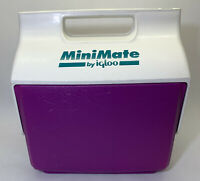 Purple & Green MiniMate By Igloo Cooler 6 Pack