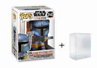 Funko Pop! Star Wars Mandalorian Heavy Infantry #348 - w/ Case - In Stock