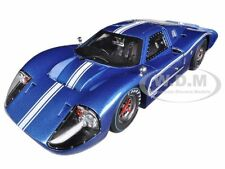 1967 FORD GT MK IV BLUE 1:18 DIECAST MODEL CAR BY SHELBY COLLECTIBLES SC421
