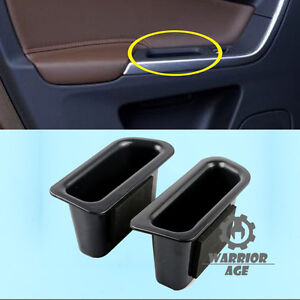 2x Rear L+R Door Handle Armrest Storage Box Holder For Volvo XC60 2009-2016