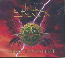 True Strength-Steel Evangelist CD 2016 ROXX Christian Metal (Brand New-Sealed)