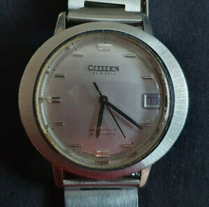 Citizen Automatic Vintage Armbanduhr Kaliber 5470, 21 Jewels, läuft gut - TOP