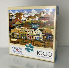 1000 Piece Jigsaw Puzzle Charles Wysocki PETE'S GAMBLING HALL Buffalo Sealed Box