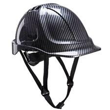 Portwest Endurance Carbon Look Protective Hard Hat Safety Helmet Headwear PC55