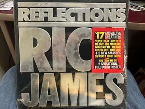 Rick James Reflections LP 1984 Gordy 6095 HYPE STICKER SEALED PROMO