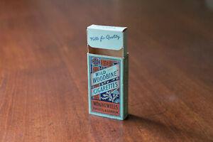 Wills Wild Woodbine- Vintage Cigarette Packet