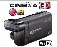 LG 3D IC330  Full HD Camcorder,,WI-FI  3D recording ( The analogue DXG-5F9V )
