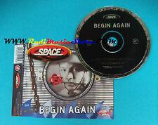 CD Singolo Space  Begin Again CDGUT19  UK 1998 no mc lp vhs(S23)