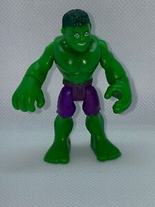 Imaginext Playskool Hulk Action figure 2010 Marvel Hasbro C-3046A