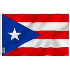 Anley Fly Breeze 3x5 Foot Puerto Rico Flag Puerto Rican National Flags Polyester