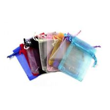 25pcs Organza Bags 20x30cm Wedding Favor Packing Jewelry Gift Pouch Multi-Color