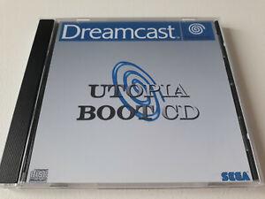 SEGA DREAMCAST Utopia boot cd v1.1